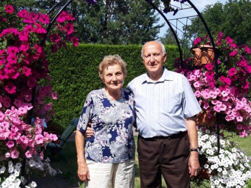 Teresa i Stanisław Jaromin - Diamentowe Gody